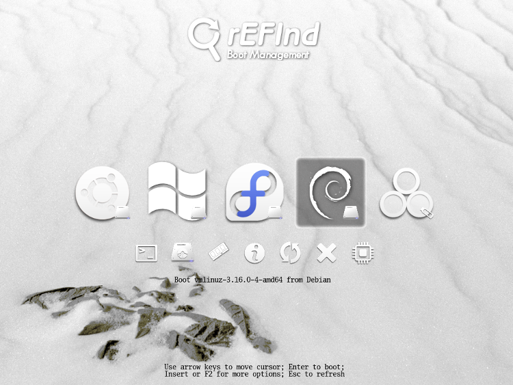 The Refind Boot Manager Theming Refind